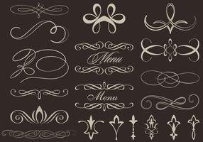 Calligraphic Ornament Vectors