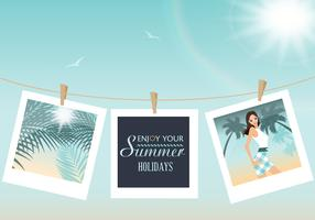 Pictures of Summer Vector