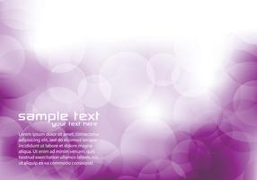 Purple Bokeh Background Vector
