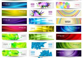 Huge Banner Vector Pack