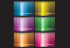 Bright Striped Background Vector Pack