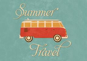 Summer Travel Wallpaper Vector