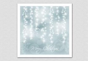 Sparkling Bokeh Christmas Vector Background