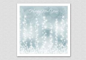 Sparkling Bokeh New Year Vector Background