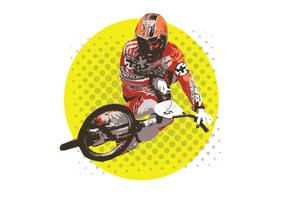 2014-USABMX_Tabletop BMX Biker Vector