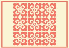 Coral Ornament Vector Pattern