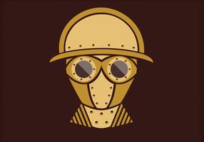 Steampunk Vector Portrait Three