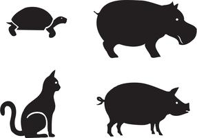 Free Animal Silhouettes