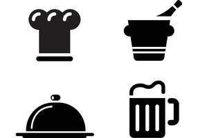 Free Restaurant Icon Vectors
