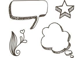 Free Sketchy Doodle Vectors