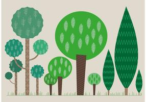 Set of Flat Tree Vectors