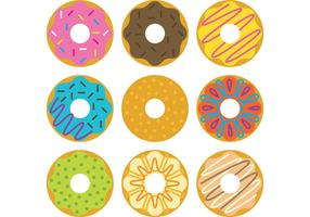 Free Vector Donuts Illustrations