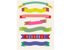 Set of Flat Ribbon Vectors Two