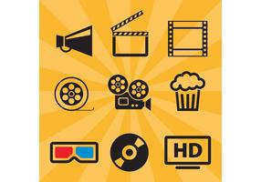 Film Vector Icons