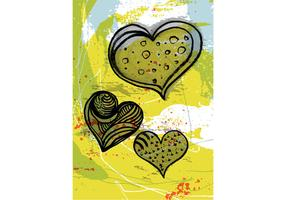 Free Grunge Heart Vector