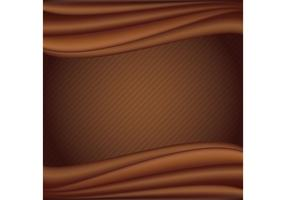 Liquid Chocolate Vector Background