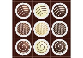 Box of Chocolate Vectors