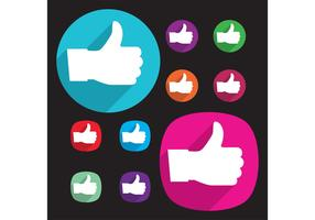 Like Facebook Vectors