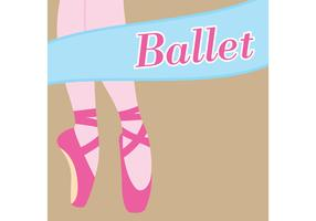 Ballet Vector Background
