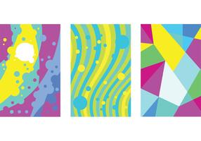 Bright Abstract Background Vectors