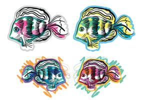 Free Tropical Fish Vectors