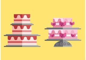 Free Cakes Vector Pack