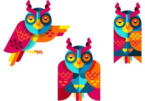 Owls Vector Collection