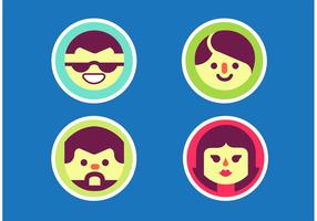 Faces Vector Pack