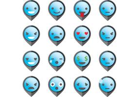 Pointer Emoticon Vectors