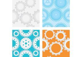 Gear Vector Patterns