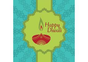 Diwali Vector Card