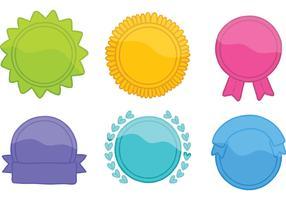 Free Bright Badge Vectors