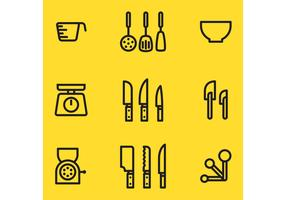 Kitchen Vector Items