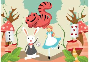 Alice in Wonderland Vector Pack