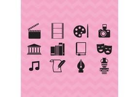 Arts And Culture Vector Icons