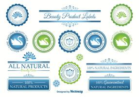 Beauty Vector Labels