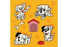 Dalmatian Puppy Vector Pack