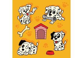 Dalmatian Puppy Vector Pack