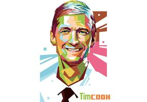 Tim Cook Vector Portrait
