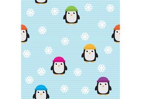 Cute Penguin Vector Pattern