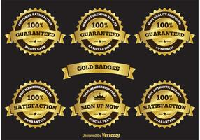 Gold Label Badges