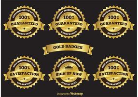 Gold Label Badges