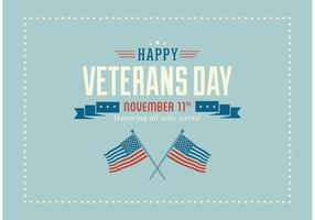 Free Happy Veterans Day Vector Wallpaper