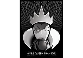 More Queen Than Evil - Queen Vector