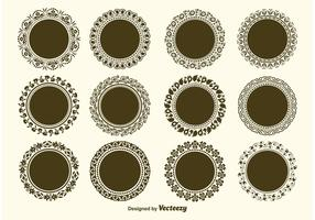 Round Decorative Vector Frame Vectors
