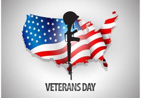 Veteran's Day Vector Background