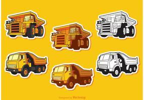 Dump Truck Vectors Pack