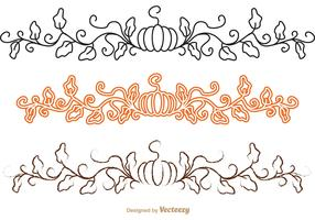 Thanksgiving Border Vector Pack