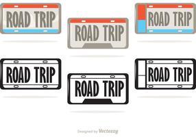 License Plate Vectors