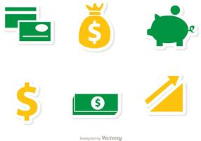 Finance Icons Vectors Pack 1